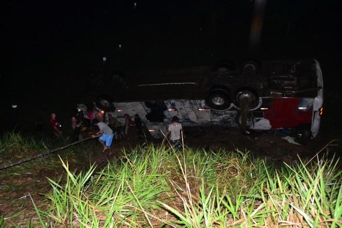 Acidente ônibus Eucatur em Rondônia