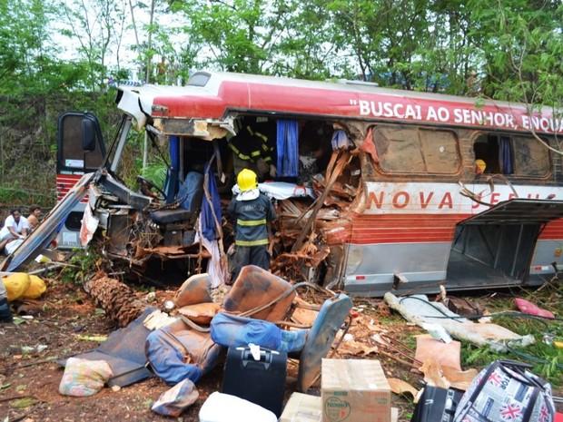 Acidente  de ônibus no Tocantins