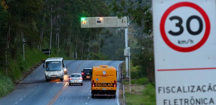 Rodovias mineiras terão mais radares operando a partir de 2ª feira