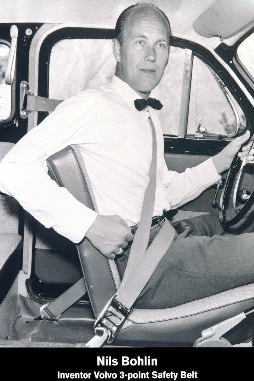 nils_bohlin_1959 inventor do cinto de 3 pontos