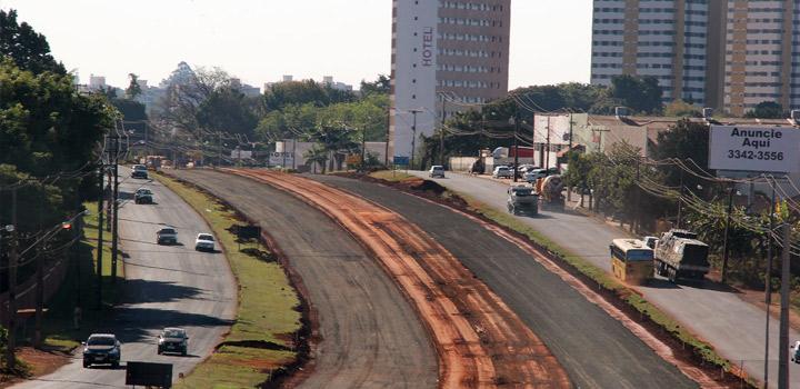 PR-445 já tem 40% das obras de duplicação, entre Londrina e Cambé