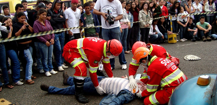 SPVias realiza simulado de acidente