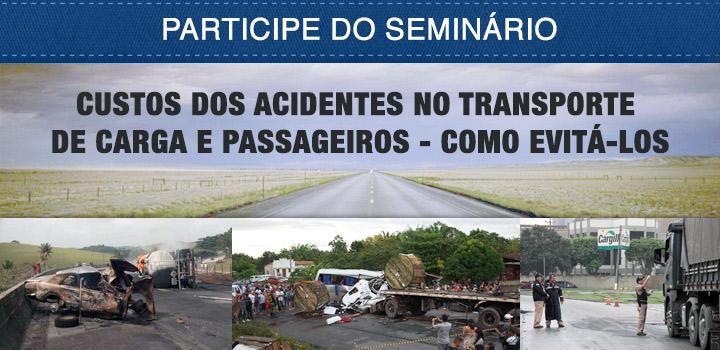 Seminário debate custo dos acidentes durante Fenatran