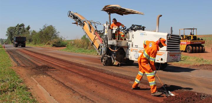 Rodovias do Paraná estão sendo recuperadas