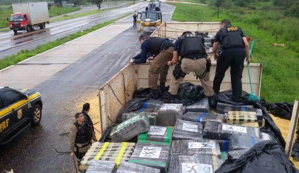 Apreensão-recorde-de-drogas-da-PRF-do-Paraná