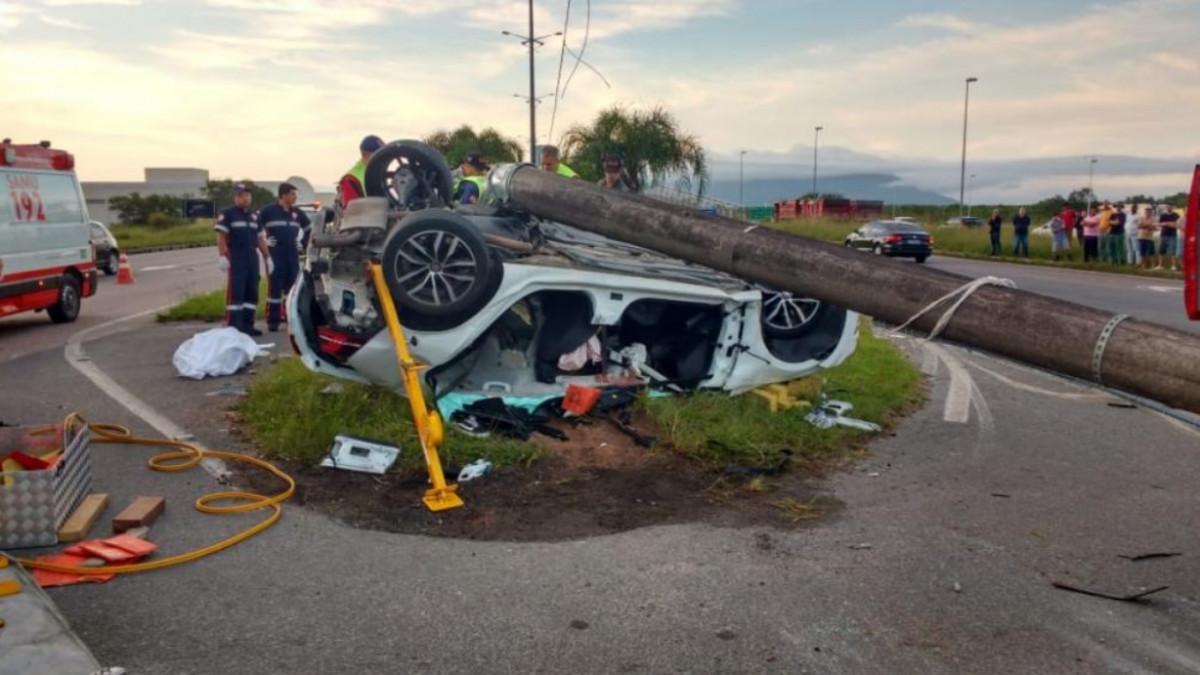 Brusquense morre em grave acidente em Florianópolis - Gabriel Patrick de Souza Brito