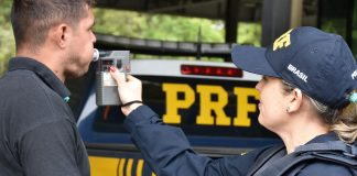 PRF-PR constata embriaguez em 40% dos motoristas durante blitz