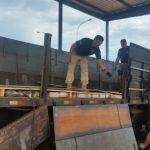 Apreensão de drogas - Em fundo falso de reboque, PRF descobre 1.5T de maconha e 46 kg de skunk