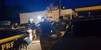 Operação conjunta da PRF e Polícia Civil desmantela quadrilha de furto a veículos de carga
