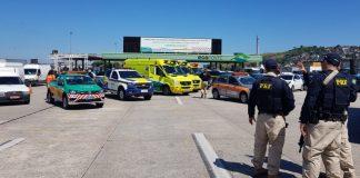 Operação Rodovida começa com ação integrada na Ponte Rio-Niterói
