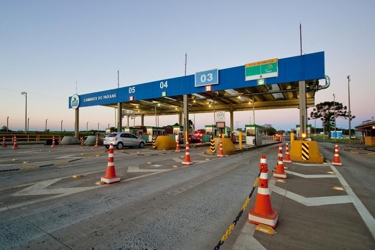Novas tarifas das concessionárias Caminhos do Paraná
