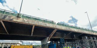 Prefeitura conclui elevação do viaduto uma semana antes do previsto