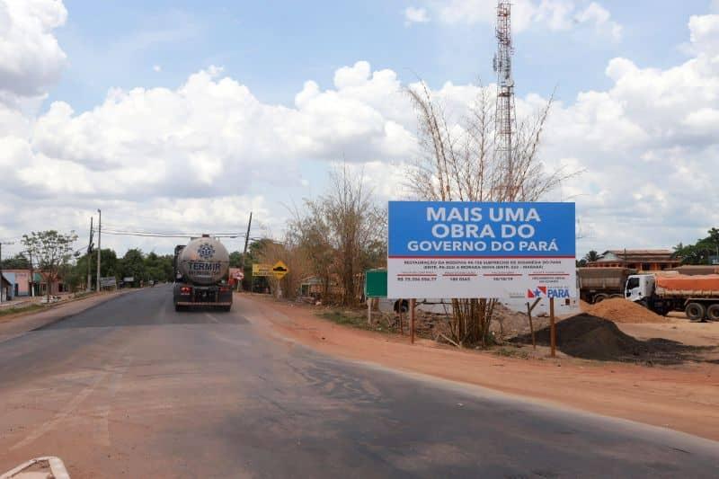 Resultado de imagem para rodovia pa 150 reconstruida pelo governo do estado