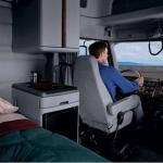 Cabines de caminhão nos EUA