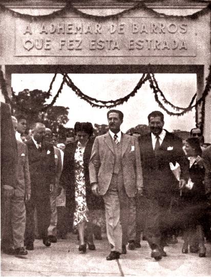 Via Anhanguera Inaguruacao Adhemar Barros Foto Arquivo Biblioteca DER - Sindicamp